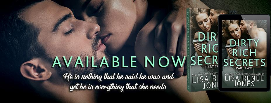 Happy Release Day & Review!! Dirty Rich Secrets (Part Two) by Lisa Renee Jones