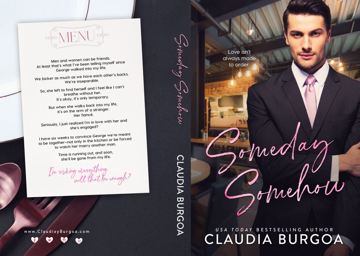Cover Reveal!! Someday, Somehow by Claudia Burgoa