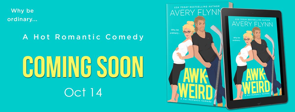 Cover Reveal!! Awk-Weird by AveryFlynn