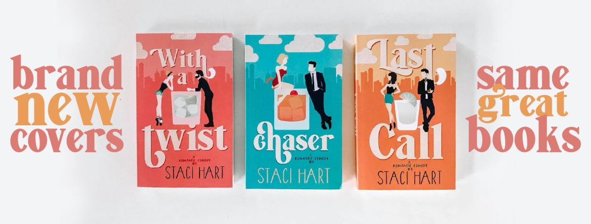 New Covers!! The Bad Habit Series by Staci Hart