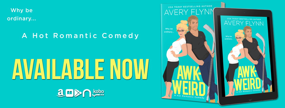 Happy Release Day & Review! Awk-Weird by Avery Flynn