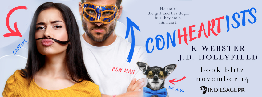 Happy Release Day & Review!! Conheartists by JD Hollyfield and K Webster