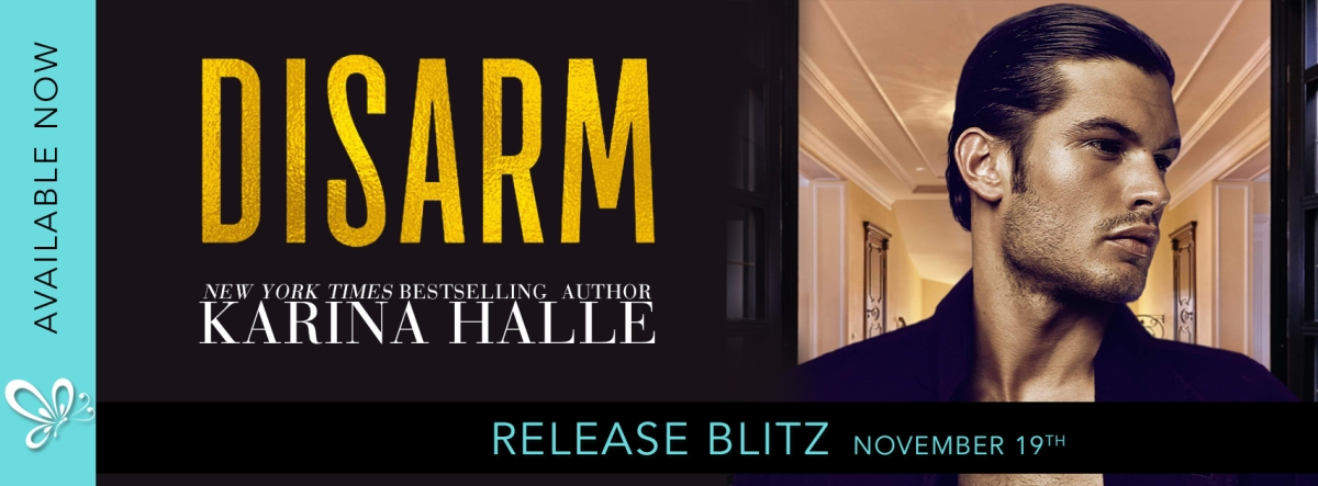 Happy Release Day & Review!! Disarm by Karina Halle
