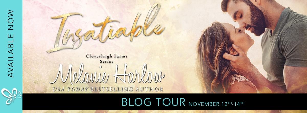 Blog Tour!!! Insatiable by MelanieHarlow