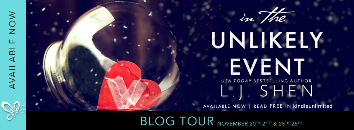Blog Tour!! In the Unlikely Event by L.J.Shen