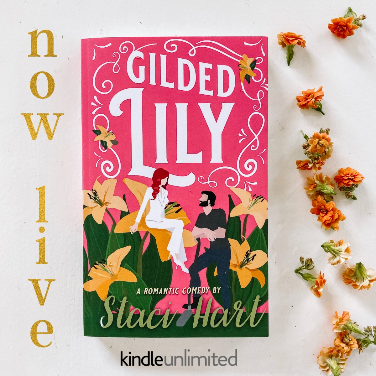 Happy Release Day & Review! Gilded Lily by StaciHart