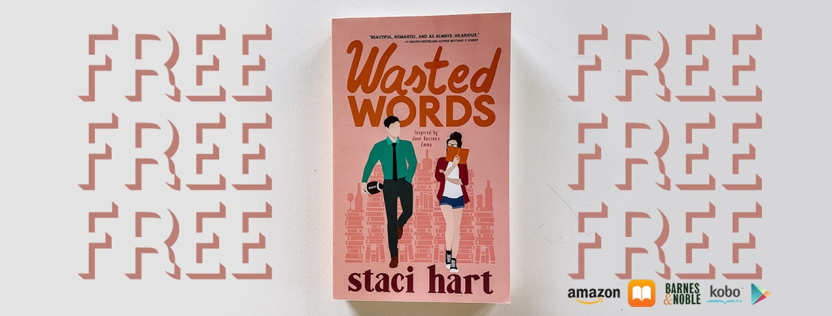 Free Book?!? Yes, please!! Wasted Words by StaciHart