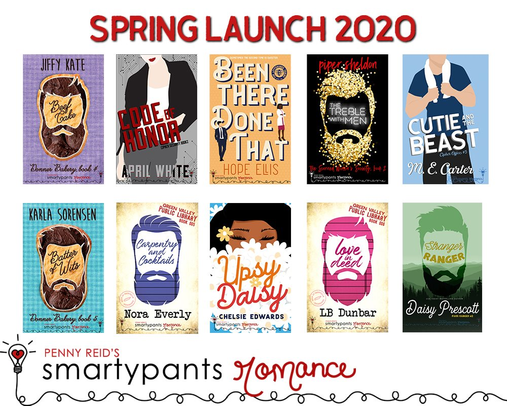 Cover Reveals!! Smartypants Romance Spring Launch!