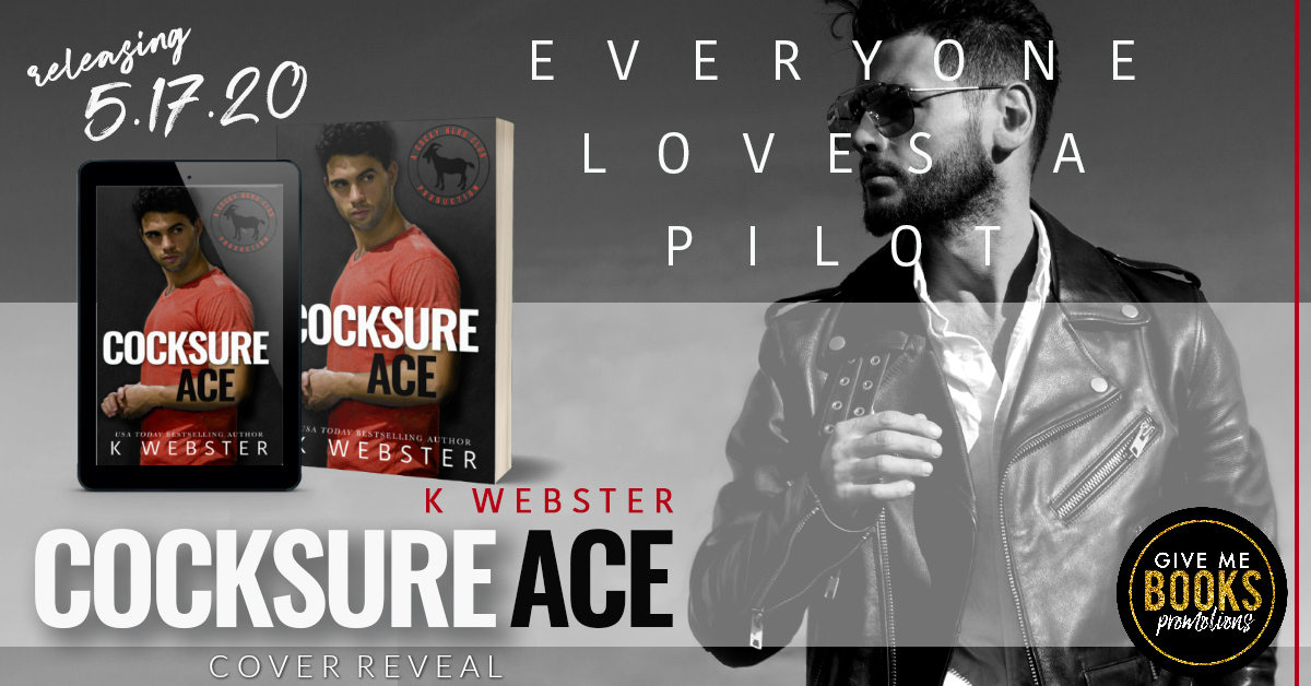 Cover Reveal!! Cocksure Ace by KWebster