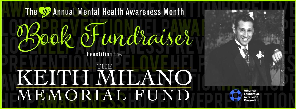 8th Annual Mental Health Awareness Month BookFundraiser