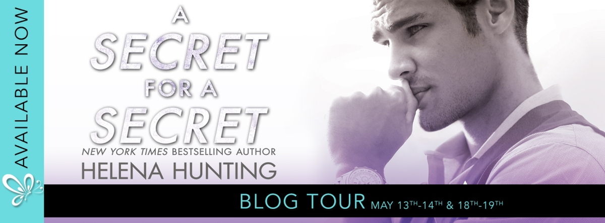 Blog Tour! A Secret for a Secret by Helena Hunting