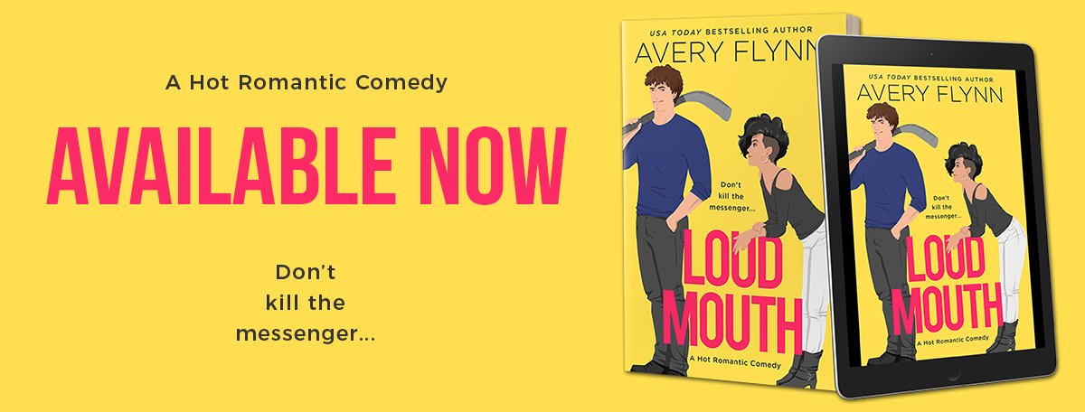 Happy Release Day & Review!! Loud Mouth by AveryFlynn