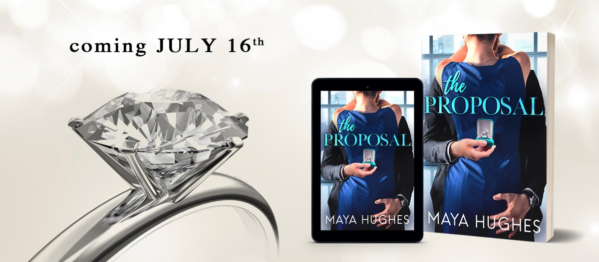 Cover Reveal!! The Proposal by Maya Hughes