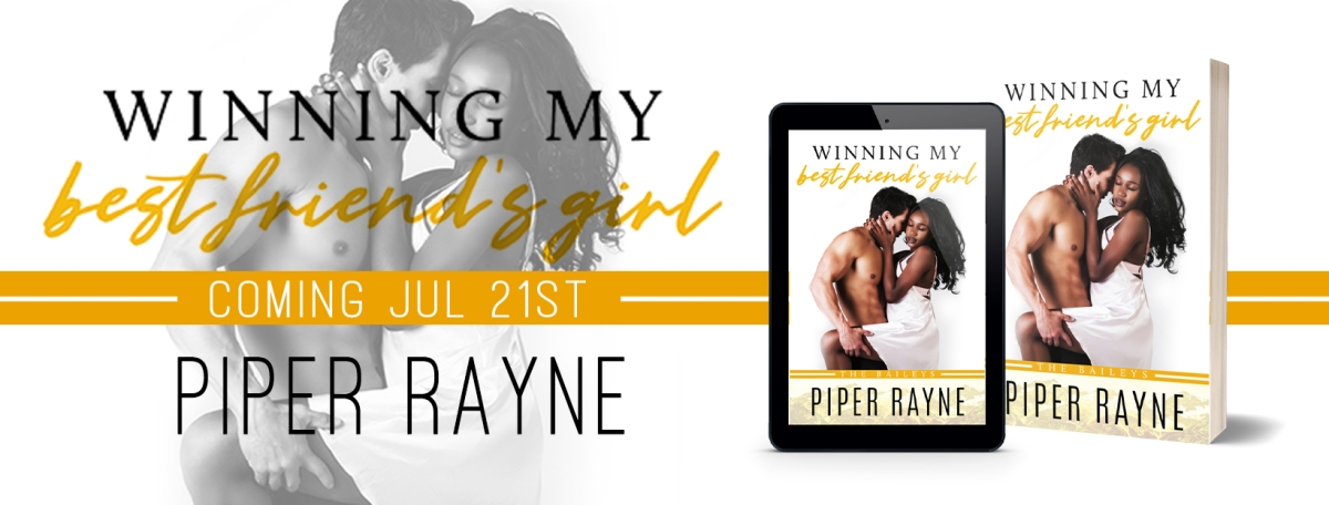Cover Reveal!! Winning My Best Friend's Girl by Piper Rayne