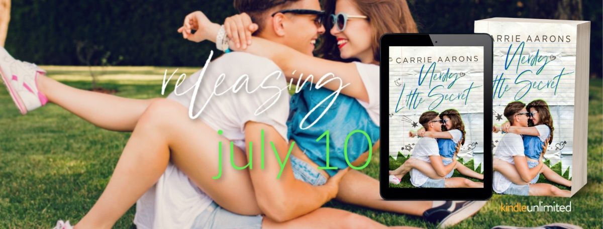 Cover Reveal!! Nerdy Little Secret by Carrie Aarons