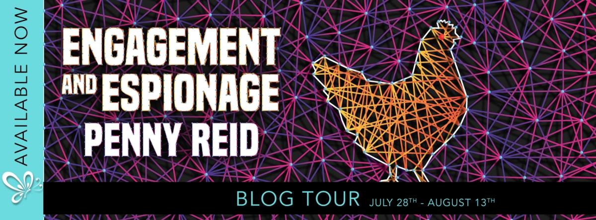 Blog Tour!! Engagement & Espionage by PennyReid