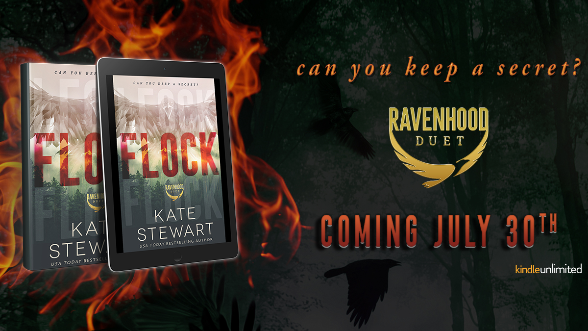 Cover Reveal!! Flock by Kate Stewart