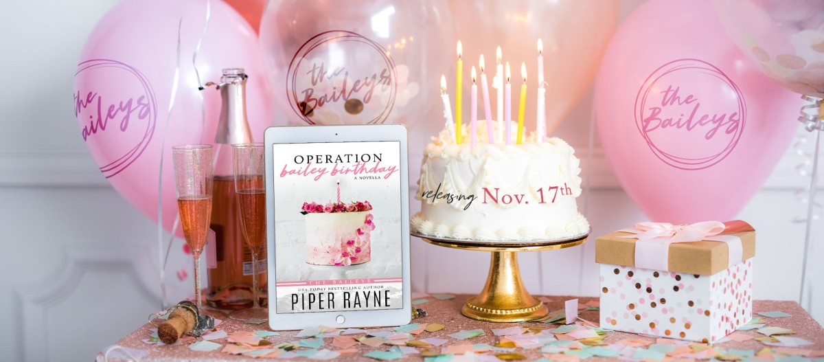 Cover Reveal!! Operation Bailey Birthday by PiperRayne