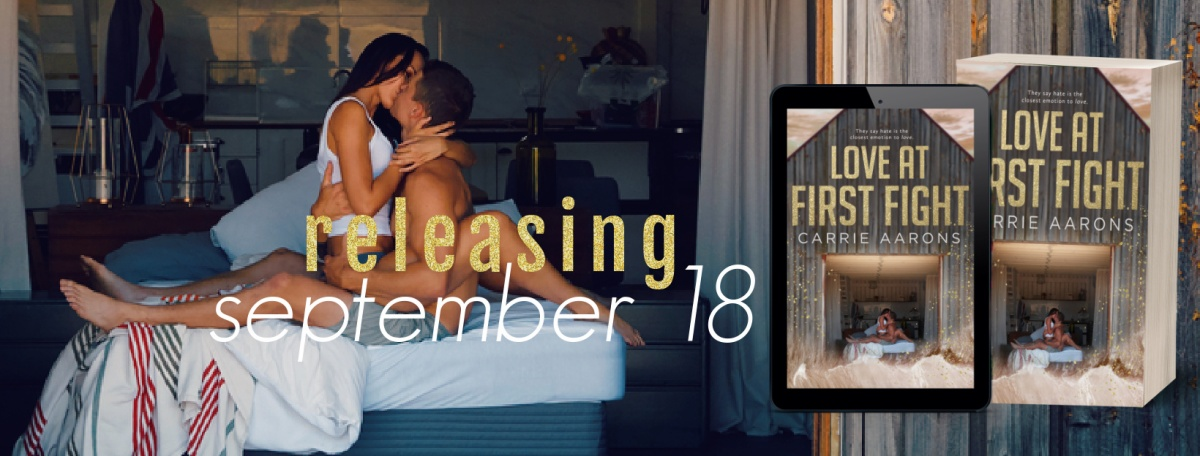 Cover Reveal!! Love at First Fight by CarrieAarons