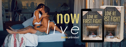 New Release & Review!! Love at First Fight by CarrieAarons